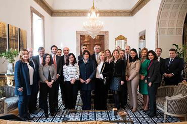 Reunión con la ministra de Comercio, Industria y Turismo de Colombia