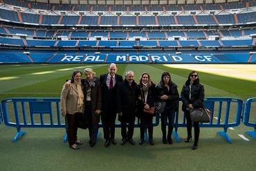 Un recorrido por el Estadio Santiago Bernabéu