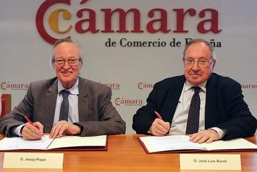 Acuerdo entre Cámara de Comercio de España y Fundación Iberoamericana Empresarial