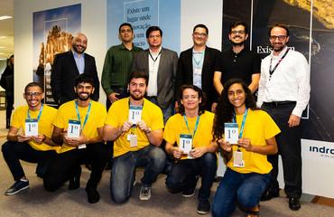 Colombia participa en el Indra Hack Day de Indra
