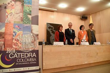 La Universidad de Salamanca presenta la III Cátedra Colombia