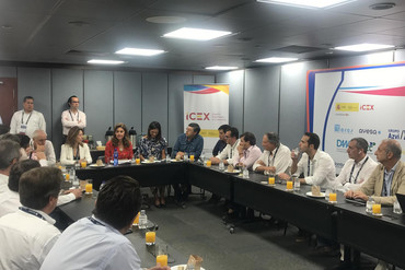 Visita a Colombia de la Secretaria de Estado de Comercio
