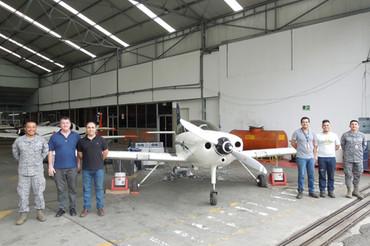 El INTA forma a la Fuerza Aérea de Colombia