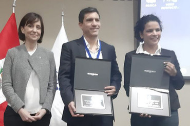 La OISS premia a ILUNION Colombia por la creación de empleo para discapacitados