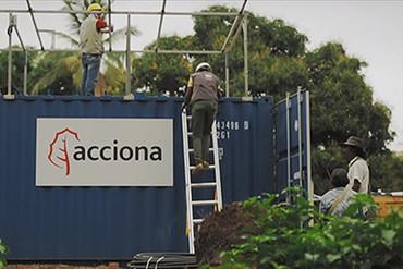 Acciona, premiada por un proyecto de potabilización en Colombia