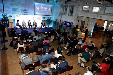Empresas colombianas clausuran en Madrid el BBVA Momentum 2019