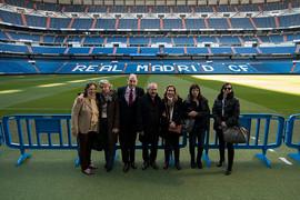 #LíderesColombia 2018: Visita al Santiago Bernabéu y comida de clausura